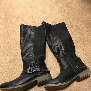 Betsy Johnson Riding Boots Size 6.5